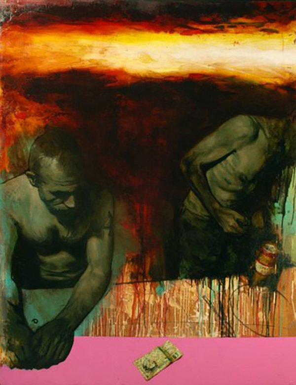 Bad Manners, 2010, 122x158cm