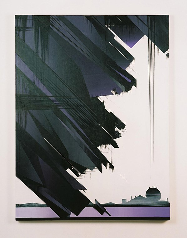 Krypton (LDF Version), acrylic on canvas, 92 x 122cm, 2007 (photo: Anthony Lam)