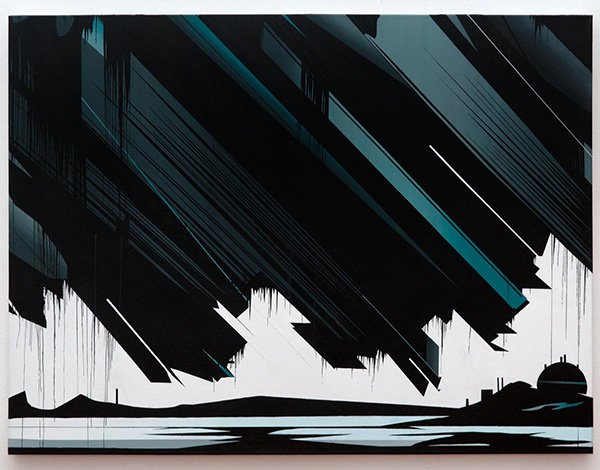 Krypton, acrylic on canvas, 122 x 92cm, 2006 (photo: Joe Plommer, 2012)
