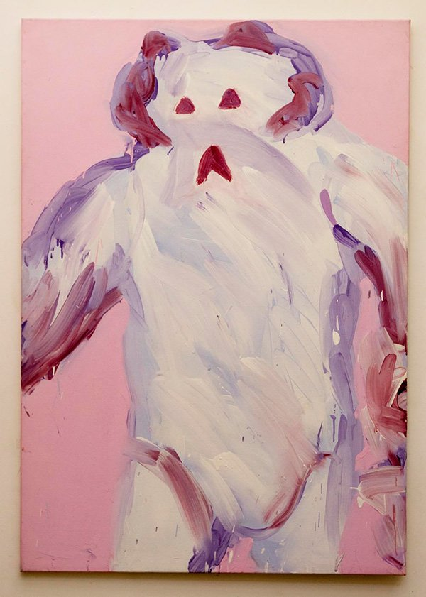 Wampa, acrylic on canvas, 152 x 102cm, 1998 (photo: Matthew Blaney)